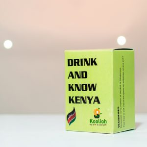 first version drink and know kenya